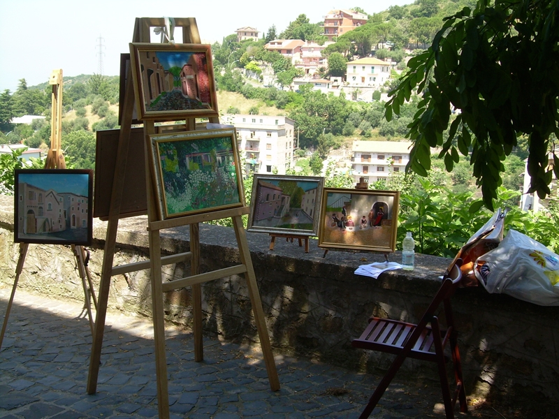 Mostra di Pittura in Via dell'Ortaggio
