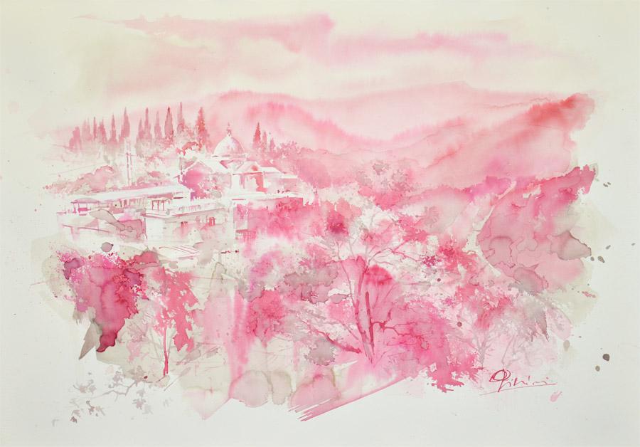 Giampiero Pierini  Terzo Premio Estemporanea di Pittura 2014
