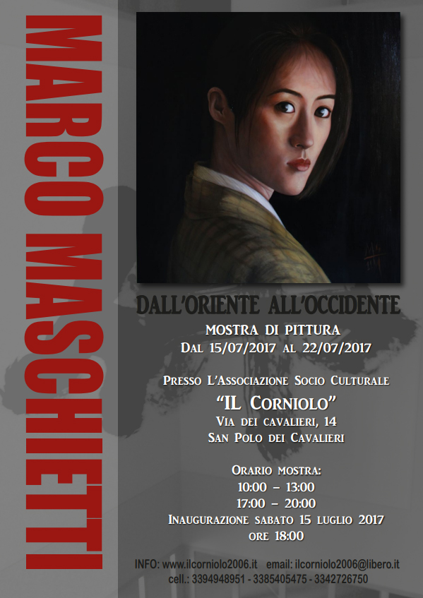 Marco Maschietti, dall'oriente all'occidente